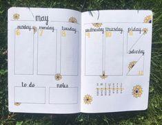 20+ Beautiful Summer Bullet Journal Spread Ideas