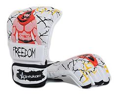 CCJJ  Original Design Freedom Half Fingers Boxing SIZE  L ** Want to know more, click on the image.