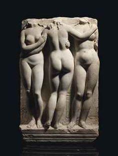 THE THREE GRACES  CIRCA 2ND CENTURY A.D.