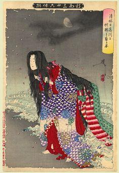 yositosi warriros musha-e violence ukiyo-e japan bizarre Samurai, Japanese Legends, Japanese Monster, Art Japonais, Japanese Dragon, Japanese Painting, Orient, Japanese Prints, Japan Art