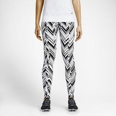 NIKE LEGENDARY FREEZE FRAME TIGHT IN WHITE/BLACK/BLACK