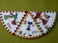 Reina Chula: Pintura sobre Porcelana - Galleries