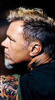 James Hetfield- Metallica love his hair!and the rest. Elvis Presley, James Metallica, Jason Newsted, Robert Trujillo, Cat Stevens, James Hetfield, Heavy Metal Bands, Thrash Metal, Tom Petty