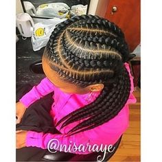 teenage hairstyles for school Simple Feed In Braids Hairstyles, Teenage Hairstyles, Twist Braid Hairstyles, Braided Hairstyles For Black Women, My Hairstyle, Older Women Hairstyles, Girl Hairstyles, Easy Hairstyles, Black Girl Braids