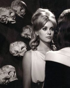 Catherine Deneuve in 'Vice and Virtue', 1963. Directed by Roger Vadim.