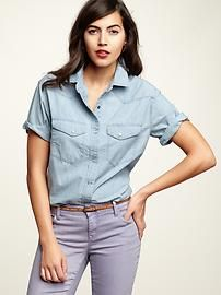 This casual but precious button down from Gap can be YOURS - only $44.95