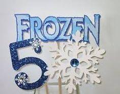 Resultado de imagen para centros de mesa para cumpleaños frozen