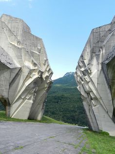 Memorial dedicated to the Battle of the Sutjeska, in south-eastern Bosnia.