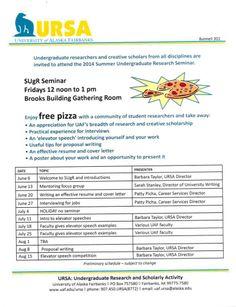Summer Undergraduate Research Seminar