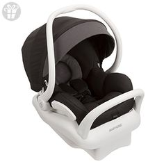Maxi-Cosi - Mico Max 30 Infant Car Seat White Collection w Baby on Board Sign - Devoted Black Max Comfort, Max Safety, Max Style: Mico Max Give Car Seat And Stroller, Baby Car Seats, Toys For Little Kids, Thing 1, Travel System, Small Baby, Black Bedding, Baby Registry, Baby Gear