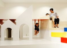 Pixy Hall kindergarten by Moriyuki Ochiai Architects