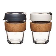 KeepCup - Glas Coffee to go Becher mit Cork - KeepCup Large - 340ml   € 29,00