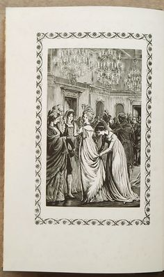 Illustrated Northanger Abbey vintage book by Jane Austen