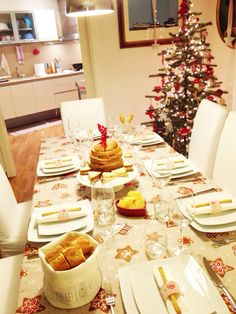 #tablesetting #christmas #tableware #tableideas #miseenplace