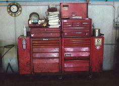 Vintage Snap On Tool Box...Now That's A Big Boy Box