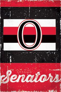 Trends International Ottawa Senators Retro Logo Wall Poster x Hockey Posters, Hockey Logos, Nhl Logos, Poster Wall, Poster Prints, Hockey Gifts, Wall Decor Pictures, Art Logo, Chicago Cubs Logo