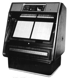 1980, Rowe-AMI's Model R-84 Prelude: All the stylings of those early supercomputers. [Jukebox Collector]