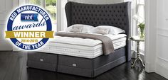 Hypnos Bed Mattress by Hastens, Manufacturer of the Year. @$15,000 up. Swedish made product.