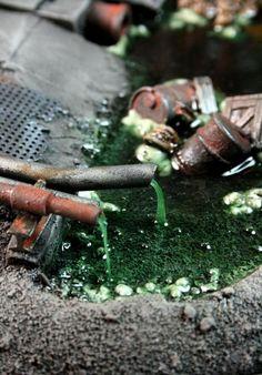 Dump, Orks, Space Ork, Terrain, Toxic