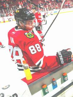Blackhawks Hockey, Chicago Blackhawks, Patty Kane, Ted Lindsay, Black N Red, Stanley Cup Champions, Jonathan Toews, Patrick Kane