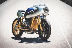 Custom Bikes, Classic Motorcycles, Cafe Racer Dreams and Mean Machines. Honda Scrambler, Scrambler Motorcycle, Bmw Cafe Racer, Harley Davidson Scrambler, Car Breaks, Motorcycle Companies, Custom Bikes, Car Insurance, Fun To Be One