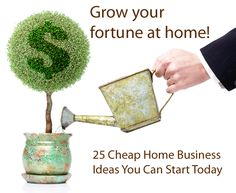 25 Businesses You Can Start From Home (With Little to No Money)