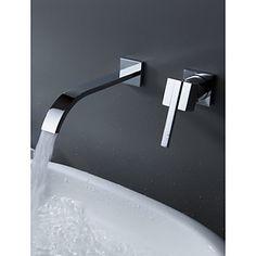 Bad Thermostat-Brausearmatur, Edelstahl 304 Wand montiert ... | {Badewannen armaturen wasserfall 38}
