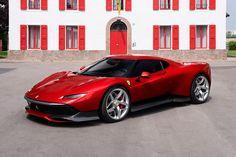 Ferrari SP38, a One-Off program fantasztikus alkotása