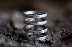 Cage Ring -Sterling Silver Wide Band Index Finger Ring-Statement Jewellery by MarrenJewelry on Etsy https://www.etsy.com/listing/177046153/cage-ring-sterling-silver-wide-band