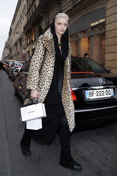 Abbey Lee Kershaw fashion street style candid photos platinum blonde-15