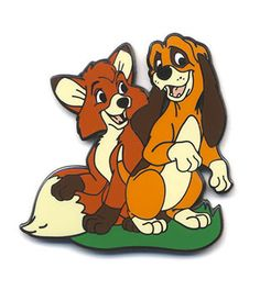 Pin 84807 - Disney Movie Club #40 - The Fox and the Hound