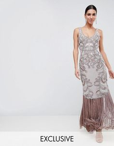 88a427ecf54 A Star Is Born | A Star Is Born Maxi Dress with Placement Embellishment A  Star