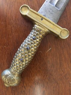 1832 Ames Artillery Short Sword adr JWR US Chicopee Mass |