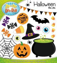 Happy Halloween Clip Art — Over 30 Graphics!