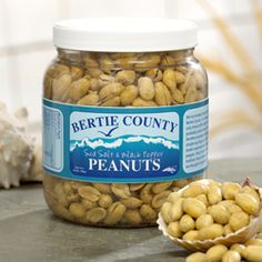 Englewood Salted Peanuts 10 oz. Jar Vivian Howard The