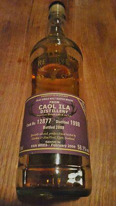 Caol Ila 1998 cask strength 58.1