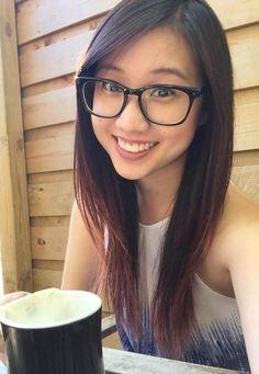 Amateur asians with glasses