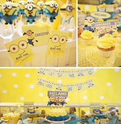 Despicable me birthday party theme