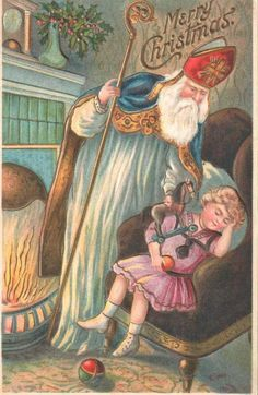 St. Nicholas and child