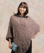 Free Knitting Pattern - Women's Ponchos: Symphony Poncho