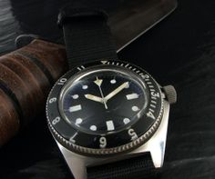 Classic vintage military watch