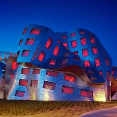 Cleveland Clinic  Lou Ruvo Center for Brain Health, Las Vegas, NV. Architectural Style: Deconstruction Architect: Frank Gehry  | 6 Love it or Hate it Buildings!