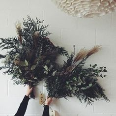 The Wild Bunch (our roommates at Nassi Soofi and Alexandra Schulze The Wild Bunch, Image Shows, House Plants, Flower Arrangements, Greenery, Beautiful Homes, Dandelion, Christmas Wreaths, Bouquet