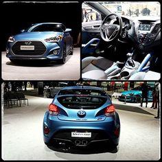Hyundai Veloster Auto Show