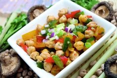 Find delicious recipes and meal ideas at Tesco Real Food. Our cooking tips and meal planner will provide all the food inspiration you need for any occasion. Chickpea Stew, Chickpea Salad, Tofu, Tesco Real Food, Peppers And Onions, Red Peppers, Food Shows, Meal Planner, Recipes