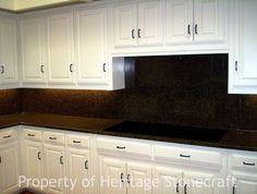 browncountertops with slate backspplash   Heritage Stone: Gallery 59 photos Get a Free Estimate
