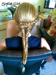 intense braids.