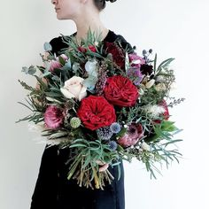 SUMMER WEDDING FLOWER BOUQUET F l o r a l S t y l i s t  (@pebbleanddot) Love My Job, Flower Bouquet Wedding, How To Make Wreaths, Wedding Bride, Summer Wedding, Christmas Wreaths, Floral Wreath, Holiday Decor, Instagram
