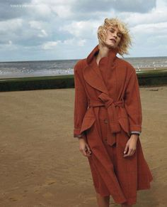 Enduring Love | Vogue UK August 2014 | Delfine Bafort by Yelena Yemchuk