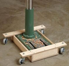 Drill Press Mobile Base Woodworking Plan - a few background answers on reliable strategies in Very Cool Easy Woodworking Tips - Woodworking Jigsaw, Woodworking Books, Woodworking Workshop, Easy Woodworking Projects, Popular Woodworking, Woodworking Videos, Woodworking Furniture, Custom Woodworking, Wood Projects